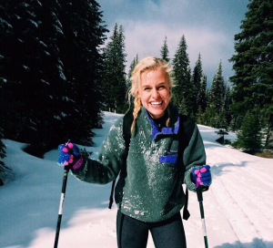 Jillian Cross Country Skiing
