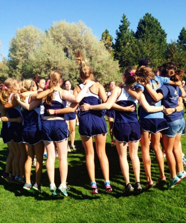 Whitman College Cross Country Team Picture