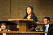 Crystal Apple Awards 2015 - Amador Valley School Student Annie Lu