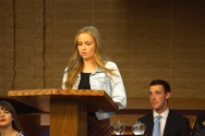 Crystal Apple Awards 2015 - Amador Valley School Student Kenney Scoffield