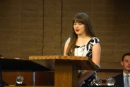 Crystal Apple Awards 2015 - Dublin High School Student Nicole Dayton