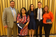 Crystal Apple Awards 2015 - Foothill High School Recipients 1