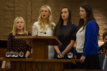 Crystal Apple Awards 2015 - Senior Young Women Musical Number
