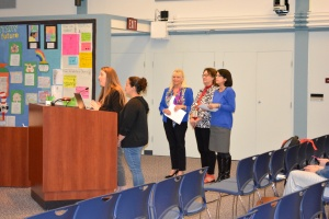 Dublin HIgh School staff presents at School Board Meeting