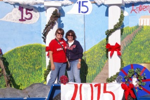 Dublin Unified School District Difference Maker Michelle McDonald on Parade Float