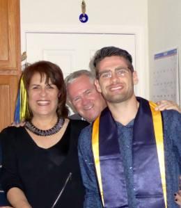 Aslan with his parents