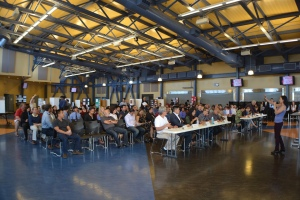 Dublin High School Engineering Entrepreneur Competition 2015 Audience