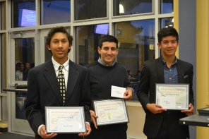 Dublin High School Engineering Entrepreneur Competition 2015 Second Place