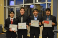Dublin High School Engineering Entrepreneur Competition 2015 Third Place
