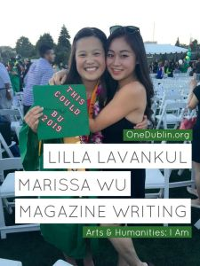 Lilla Lavankul (Right) and Marissa Wu (Left)