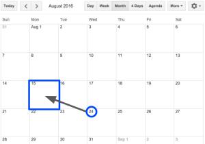 DUSD proposed calendar 2016-17