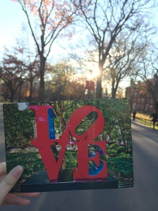 Postcard from a DHS friend at Penn