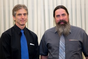 Chris Gibbons and Eric Heinitz