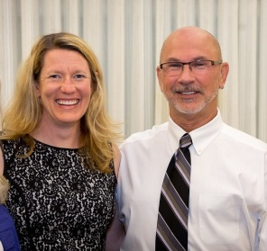 Christine Buckley and Mark Chatigny