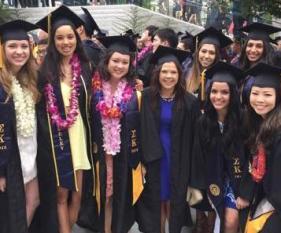 Sorority (Sigma Kappa) Grad Photo