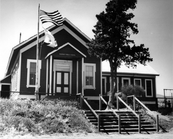 Old Murray School at Old Location 1950s