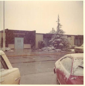 Snow at Fred 1976