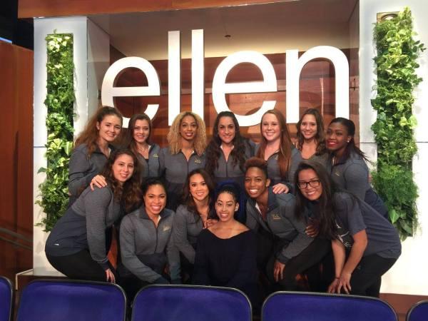 UCLA Gymnastics - Ellen