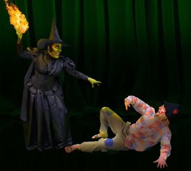 3-Wicked Witch and Scarecrow
