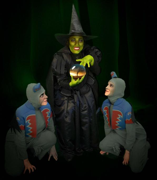 4-Wicked Witch and Flying Monkies