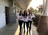 photo with friends for dhs spirit day